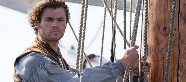 """Chris Hemsworth en """"En el corazón del mar"""""""