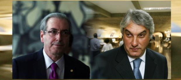 Cunha continua livre e Delcídio preso