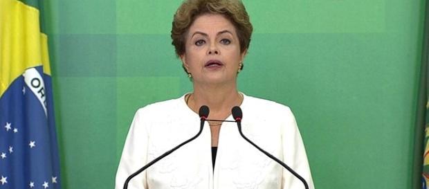Dilma faz pronunciamento em Brasília