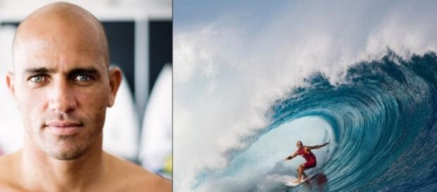El 11 veces Campeón del Mundo de Surf.