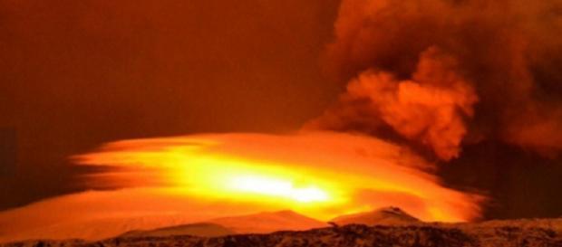 Eruzione Etna: disagi in Calabria