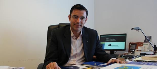 Lucas A. Pérez, del Consejo de Movimiento Europeo.