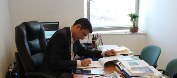 Lucas Andrés Pérez, uno de los ponentes.