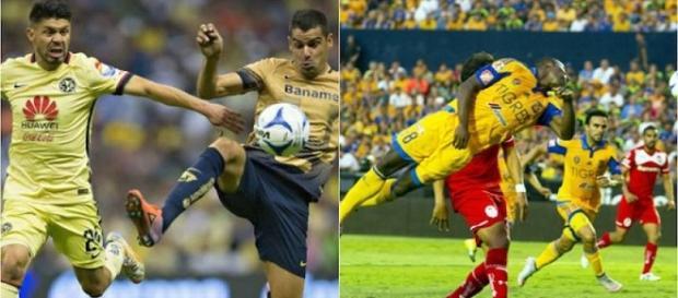 Semifinalistas: América, Pumas, Tigres y Toluca