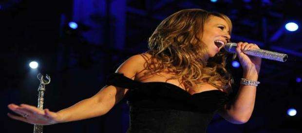 Singer Mariah Carey hospitalized due to the flu.