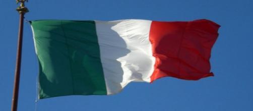 Bandera de Italia al viento. Flickr