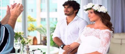 Deborah Secco casou em segredo