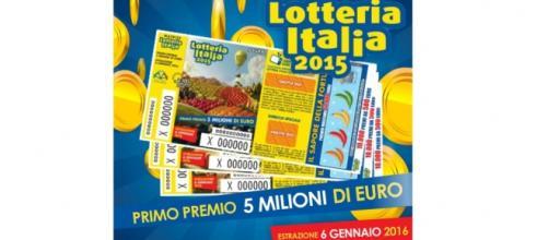 Lotteria Italia 2015, estrazione 6/1/2016