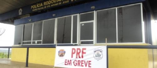 PRF em estado de greve em todo Brasil