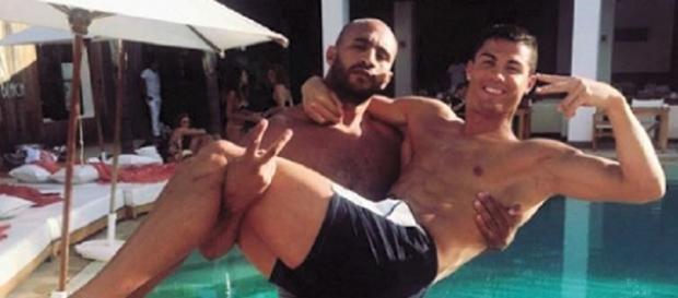 Cristiano Ronaldo e o lutador alimentam as dúvidas