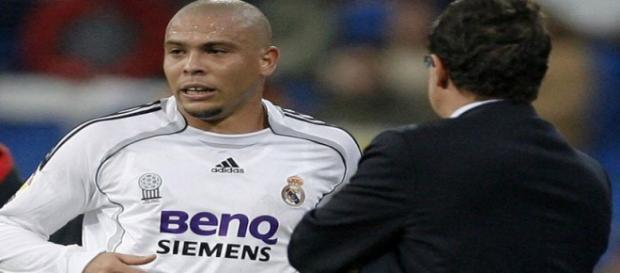Ronaldo e Capello trocaram críticas