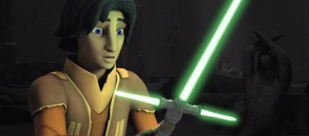 Sabre de 3 pontas em Star Wars: Rebels