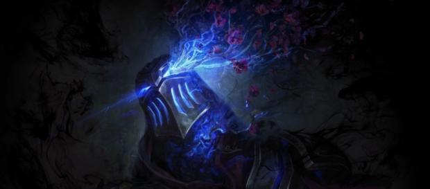 Teaser de la página del campeón Zed