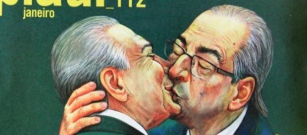 Vice-presidente e parlamentar estão na capa