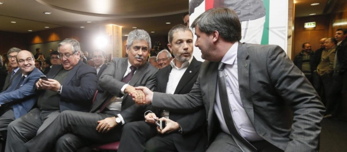 Guerra: Presidente do Benfica humilha Bruno de Carvalho e