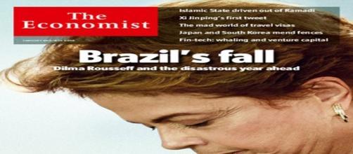 Capa The Economist em sua primeira edição de 2016.