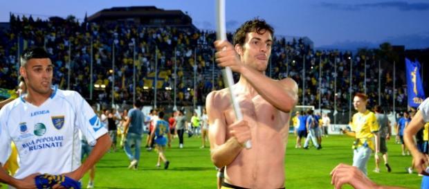 Davide Bertoncini, difensore del Frosinone.
