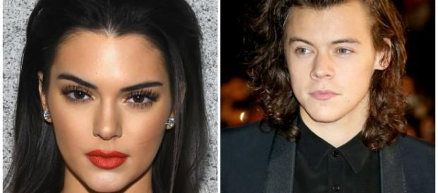 Kendall Jenner jantando com Harry Styles