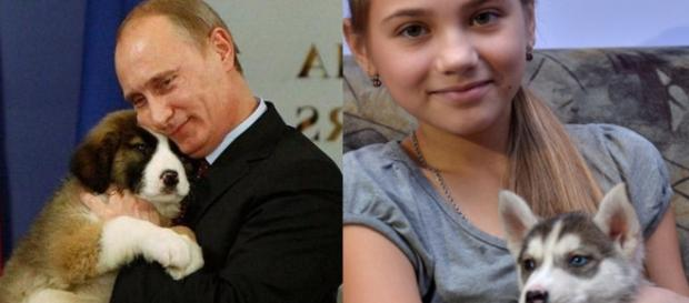 Putin leu a carta de Olga e lhe deu um cachorro