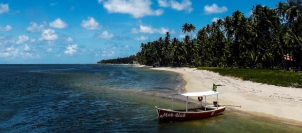 Uma das maiores praias do mundo por explorar.