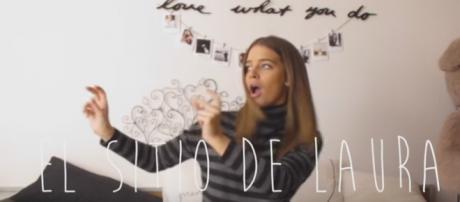Captura del primer vídeo de Laura Escanes