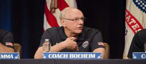 Coach Boeheim's penalty starts immediately.
