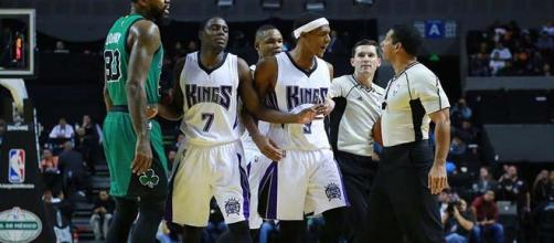 Kings Rando Rondo ejected from game with Celtics.