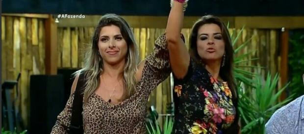 Ana Paula e Mara (Reprodução/Record)