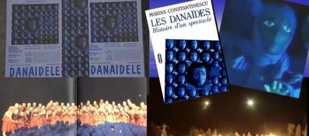 Danaidele, foto Google, colaj Luana S.