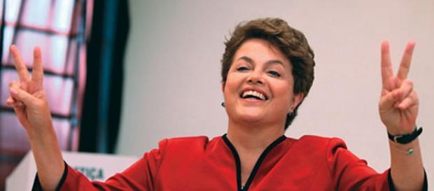 Dilma garante que lutará pela presidência
