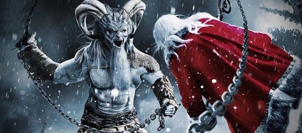 Krampus, o estranho aliado do Pai Natal