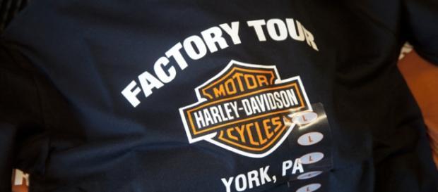 visite de l'usine Harley de York