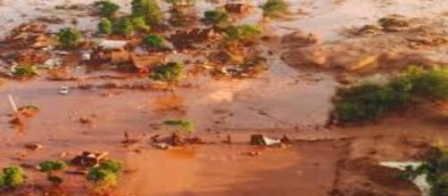 Desastre em Mariana MG(Foto:Reprodução)