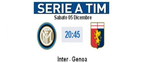 Diretta live e gol Inter - Genoa