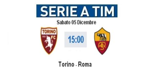 Diretta Live e gol Torino - Roma