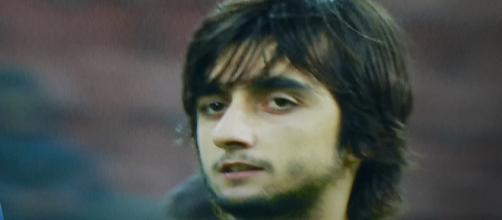 Mattia Perin, deluso dopo Inter-Genoa 1-0.