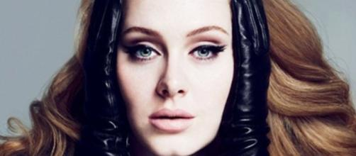 Promotional image for Adele's album, '25'.