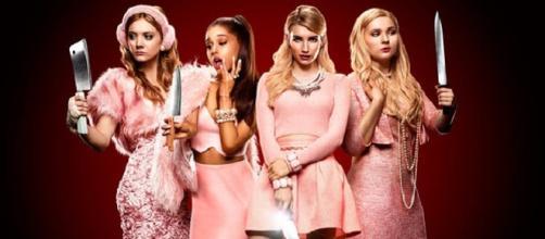 Protagonistas de la serie Scream Queens