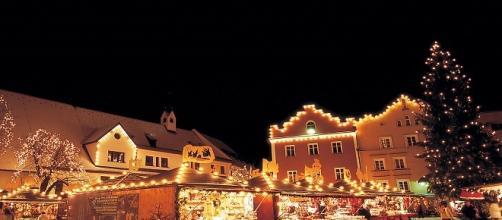 Scorcio dei mercatini di Natale