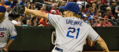 Zack Greinke is leaving Los Angeles Dodgers