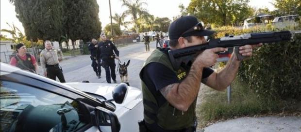 Acto terrorista en California.