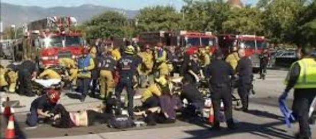 Ataques na Califórnia(Foto:Reprodução)