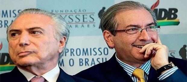 Gravações mostram repasse de Cunha para Temer