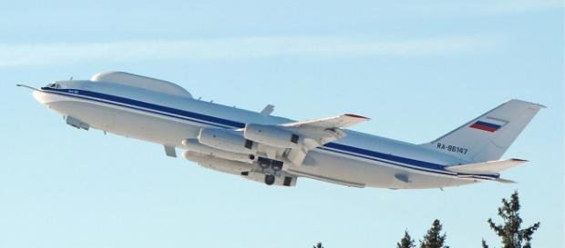 Ilyushin-80 avionul modificat pt. război nuclear