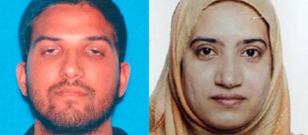Syed Farook y Tashfeen Malik foto: BBC