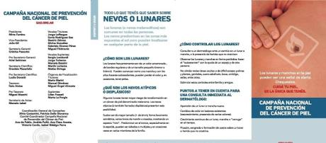 Revisar los lunares es un tema fundamental