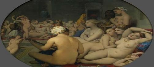 'El baño turco' Jean-Auguste-Dominique Ingres.1862