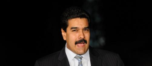Il presidente del Venezuela Nicolas Maduro.
