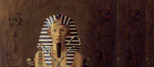 Representación pictórica de Hatshepsut.