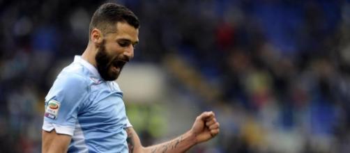 Il centrocampista della Lazio Candreva